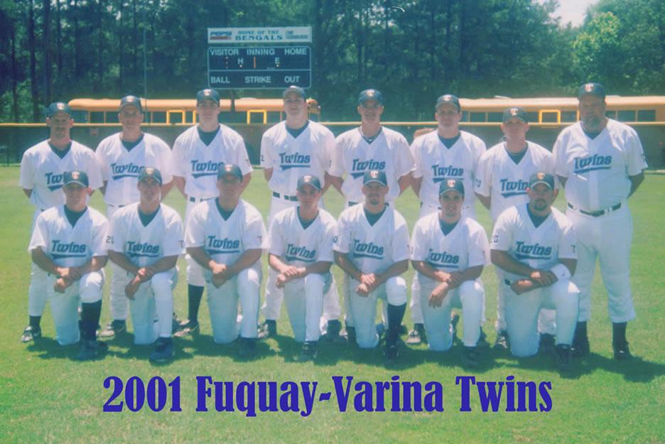 2001 Team Photos